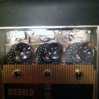 Diebold Time Lock 3 Movements Complete Set Ready to Install New 4