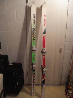 Fischer SC4 Downhill Skis w Tyrolia Bindings