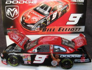Bill Elliott #9 dodge intrepid Muhammad Ali 2001 Diecast car 1 24