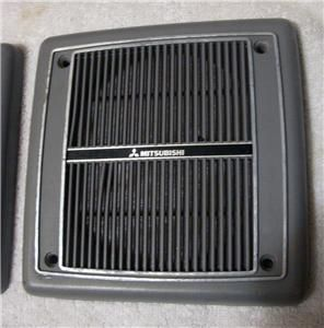 1987 90 Dodge Raider Side Wall Gray Plastic Mitsubishi Speaker Grill