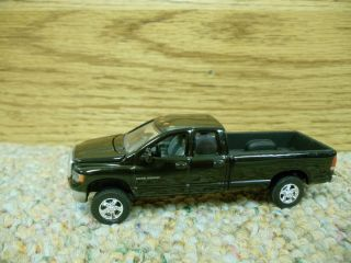 64 Ertl Dodge RAM 2500 Black Pickup Truck Farm Toy