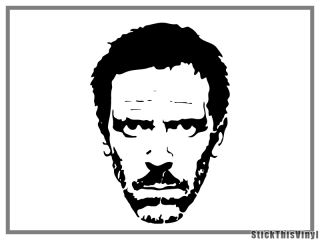 2x dr house decal vinyl stickers this listing includes two 2 decal