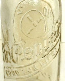 Vintage Dr Pepper 10 2 4 Emb Soda Bottle Rolla MO