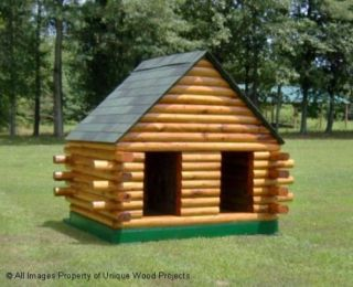 Dog House Plans Duplex 4' x 5'