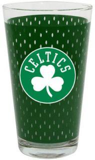 Boston Celtics NBA Basketball Sports Jersey Style Drinking Pint Glass