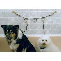 Dog Grooming Horizontal Tub 3 Loop Bathing Restraint