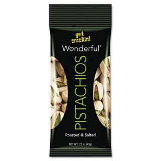 PAM 072142WE2 Paramount Wonderful Pistachios Dry Roasted Salted
