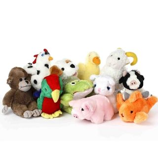 Multipet Look Whos Talking Dog Toy with Real Animal Sound Small