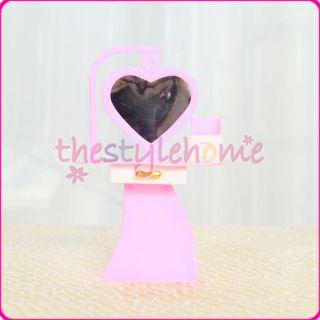 Cute Dollhouse Furniture Dresser Dressing Table w/ Mirror Drawer for