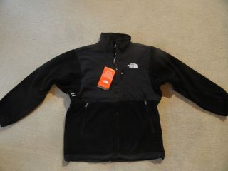 Mens North Face Denali Jacket Size Large Black Fleece