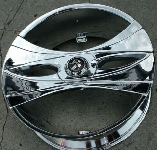 Dub Deux Wang S149 26 Chrome Rims Wheels Jeep Wrangler x 07 Up 26 x 9
