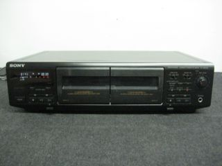 Stereo Dual Cassette Deck DOLBY SOUND RCA DUB music RETRO auto RV