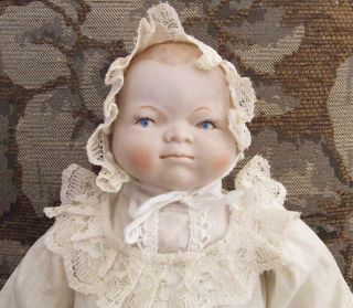 14 Bye Lo Baby Doll Antique Reproduction Porcelain Grace Putnum Made