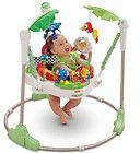 New Fisher Price Rainforest Musical Jumperoo Baby Jump Exercisers