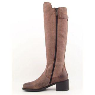 Donald J Pliner Muriel Womens SZ 5 Brown Saddle Boots Knee Shoes