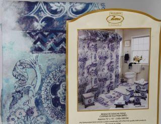 Fabric Bathroom Shower Curtain Duck River Queenann Balloon Valance