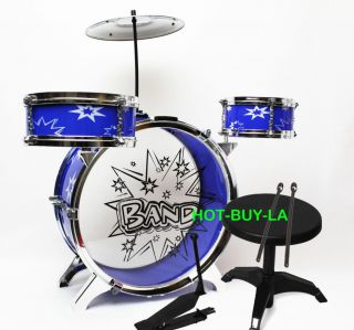 My First Toy Small Drum Musical Children Plastic Kid Big Bang Play Set