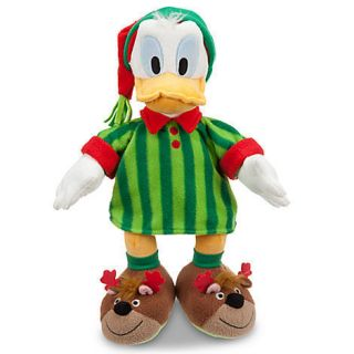 Donald Duck Holiday Pajamas Plush 16 Genuine Original
