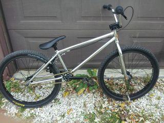 2010 FIT cr 24 bmx cruiser bike bicycle dirt jump sm se 4130 chromoly
