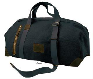 Kakadu Duffle Bag Rhino Canvas Dark Grey Travel Gym Luggage Mens