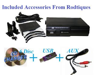 Ford Thunderbird Radio 6 Disc CD Changer USB Stereo 630 Tbird