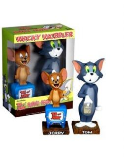 Funko Tom Jerry Wacky Wobbler Bobblehead Box Set Retired