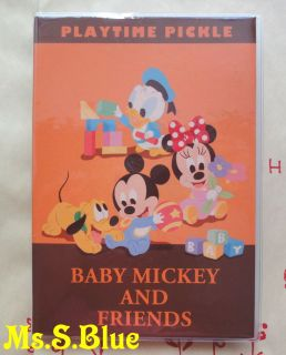 Disney baby mickey minnie donald B6 weekly 2013 schedule book diary