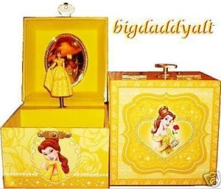 Disney Princess Belle Musical Jewelry Music Trinket Box