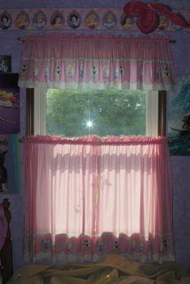 Disney Princess Curtains for 36 x 60 Window 2 Sets