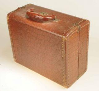 Vintage SNI DOR Portable Record Player and Radio RARE Circa 1950S