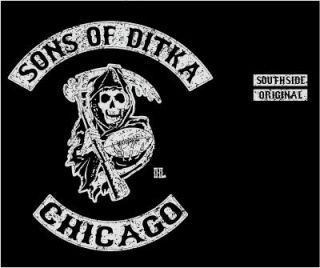 Sons of Ditka Chicago Mike Bears T Shirt Medium