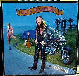 Les Dudek Poster 1981 Harley Motorcycle Mint Cond