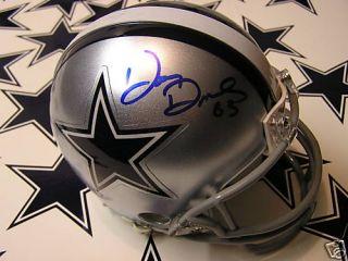 Doug Donley Autographed Dallas Cowboys Mini Helmet