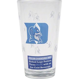 duke blue devils 16 oz color changing pint glass