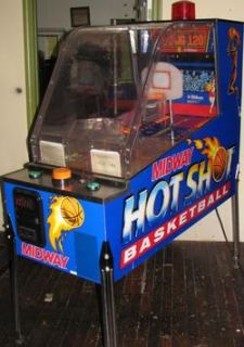 Williams Hot Shot Basketball Pinball Arcade Game