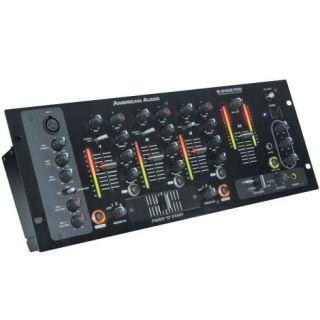 American Audio Q 2422 Pro 19 Rack Mount DJ Mixer New