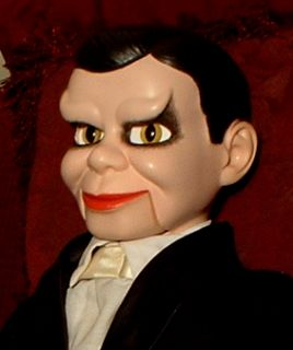 HAUNTED Ventriloquist Dummy EYES FOLLOW YOU doll puppet creepy gothic