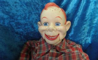 Vintage Howdy Doody Puppet Ventriloquist Dummy Doll 1973 NatL
