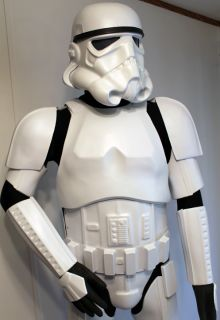 Star Wars ANH Stormtrooper Armor 100 Screen Accurate