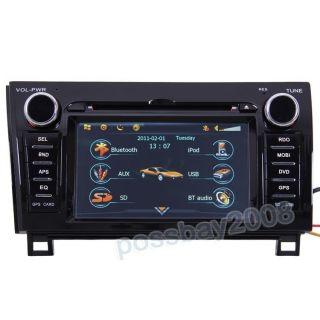 Car GPS Navigation Bluetooth iPod Radio DVB T TV DVD Player