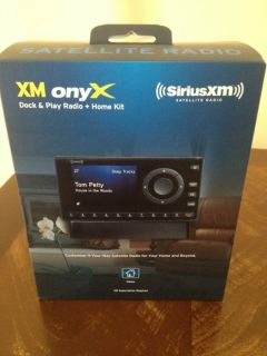 XM onyx Dock Play Radio Home Kit