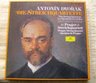 12 LP Box Set Dvorak The String Quartets DGG 2740 177 Prager