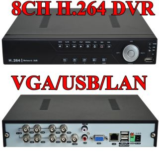 Network DVR 8CH DVR Standalone Real time Security DVR System 9318 5