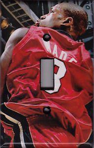 Dwyane Wade Light Switch Cover Plate Miami Heat