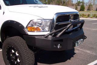 2010 2012 Dodge Ram 2500 5500 Fab Fours Front Winch Bumper Pre Runner