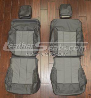 2007   2009 Dodge Nitro Leather Seat Covers 2008 Custom Interior