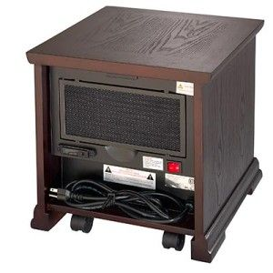 New Dynamic Infrared Quartz Heater Lifetime Air Filter Easy Glide