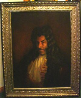 Captain Hook Dustin Hoffman Original Screen Used Oil Painting