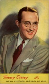 Tommy Dorsey Singer Victors Incomparable Sentimental Gentleman