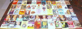 PB Book Lot 60 Vintage PAPERBACK NOVELS Classics Romance Drama Humor